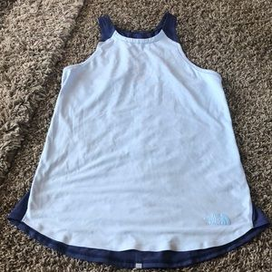The North Face athletic tank.